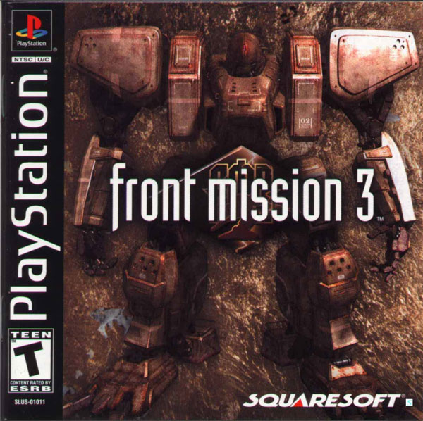 Front Mission 3 [NTSC-U] Front Cover